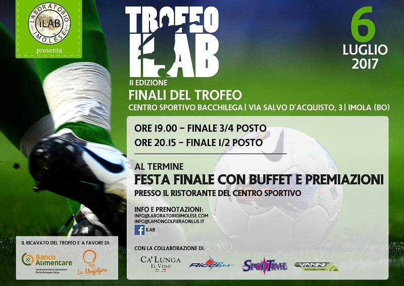 La seconda edizione del Trofeo ILab all'atto finale: sport e solidarietà hanno già vinto